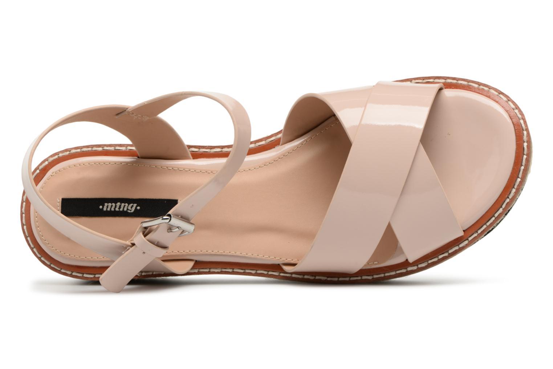 Sandales et nu-pieds MTNG Alexandra 55409 Beige vue gauche