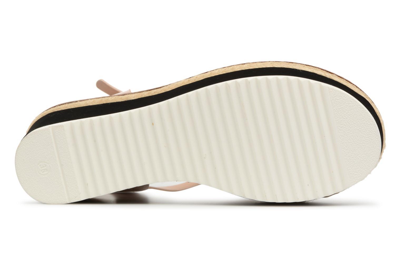 Sandales et nu-pieds MTNG Alexandra 55409 Beige vue haut