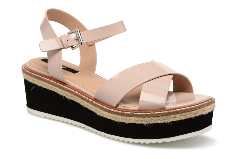 Sandales et nu-pieds MTNG Alexandra 55409 Beige vue détail/paire