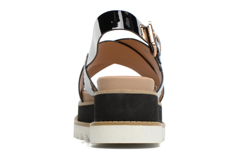 Sandales et nu-pieds MTNG Virginia 50915 Noir vue droite