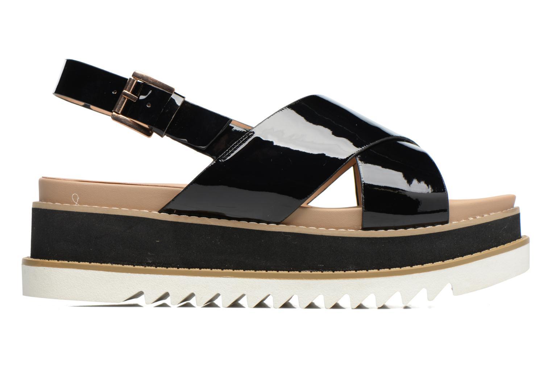 Sandales et nu-pieds MTNG Virginia 50915 Noir vue derrière