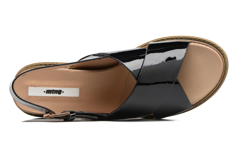 Sandali e scarpe aperte MTNG Virginia 50915 Nero immagine sinistra