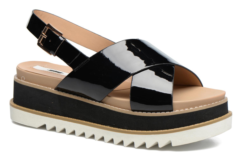 Sandaler MTNG Virginia 50915 Sort detaljeret billede af skoene