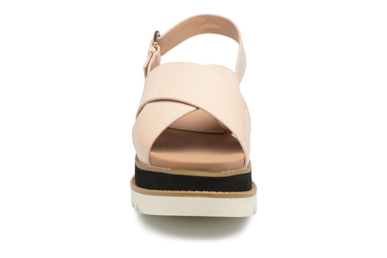 Sandali e scarpe aperte MTNG Virginia 50915 Beige modello indossato