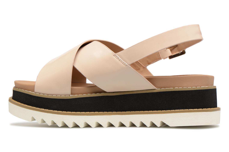 Sandali e scarpe aperte MTNG Virginia 50915 Beige immagine frontale