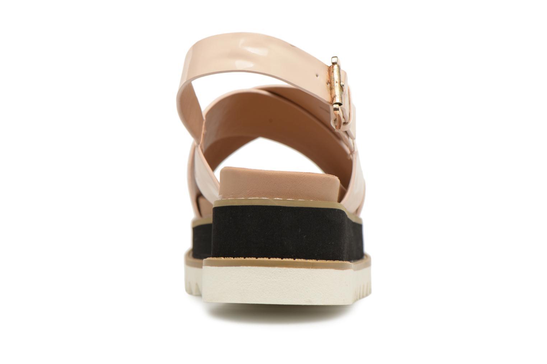 Sandali e scarpe aperte MTNG Virginia 50915 Beige immagine destra