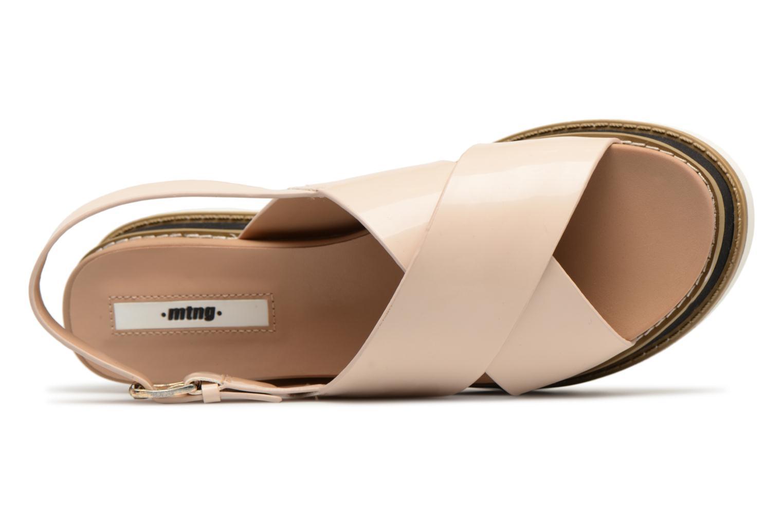 Sandali e scarpe aperte MTNG Virginia 50915 Beige immagine sinistra