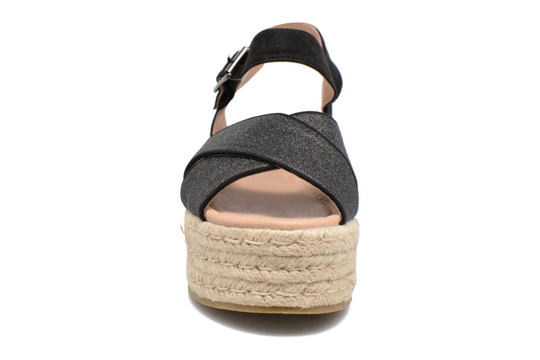 Sandales et nu-pieds MTNG Tessi 50973 Noir vue portées chaussures