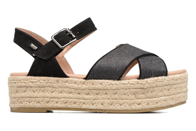 Sandales et nu-pieds MTNG Tessi 50973 Noir vue derrière