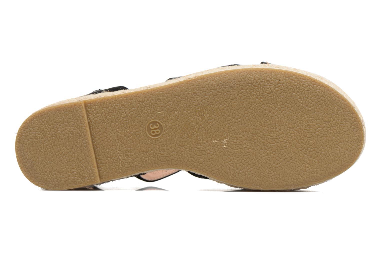 Sandales et nu-pieds MTNG Tessi 50973 Noir vue haut
