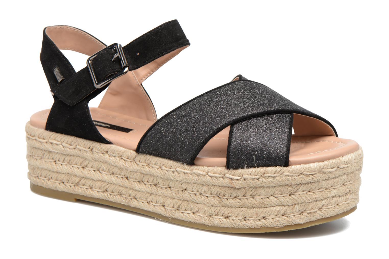 Sandales et nu-pieds MTNG Tessi 50973 Noir vue détail/paire