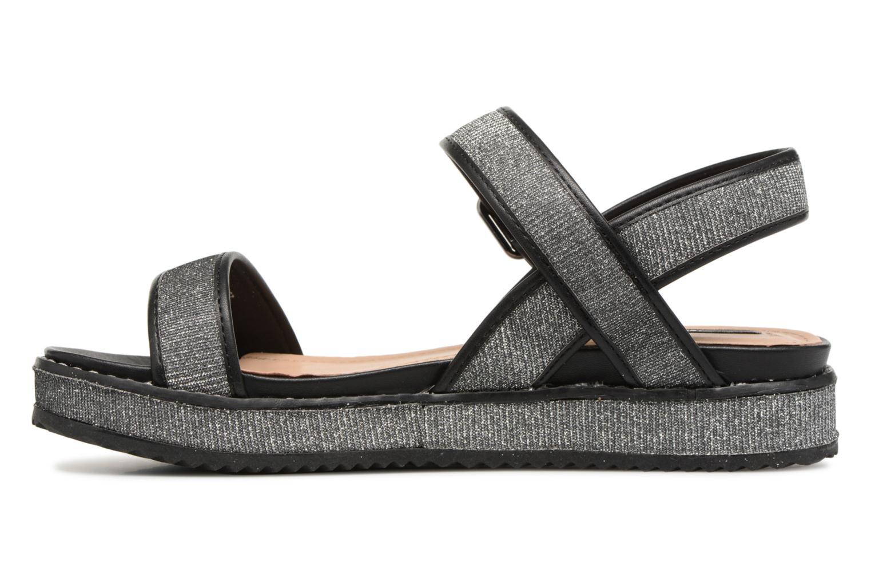 Sandales et nu-pieds MTNG Marguerita 50801 Noir vue face