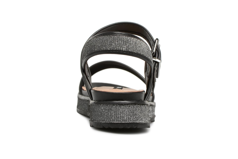 Sandales et nu-pieds MTNG Marguerita 50801 Noir vue droite