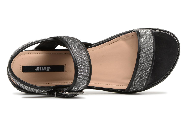 Sandales et nu-pieds MTNG Marguerita 50801 Noir vue gauche