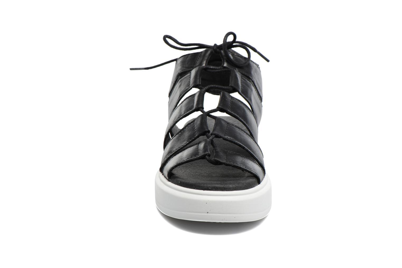 Sandales et nu-pieds Diesel H-Gram W Noir vue portées chaussures