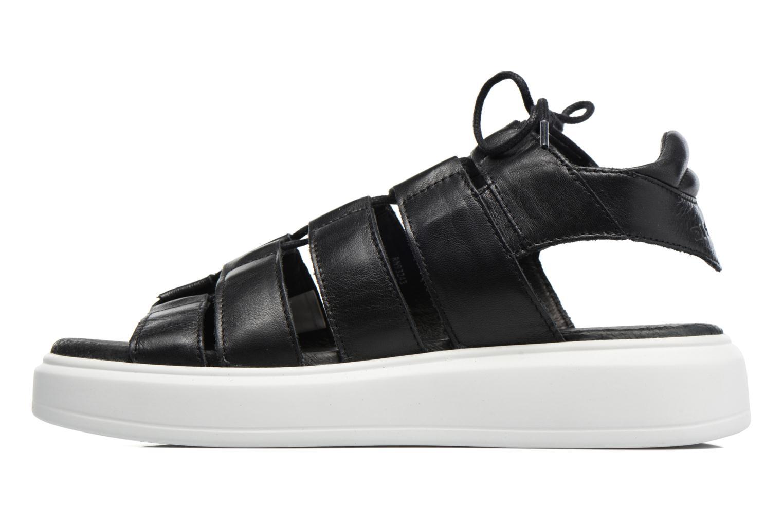 Sandales et nu-pieds Diesel H-Gram W Noir vue face