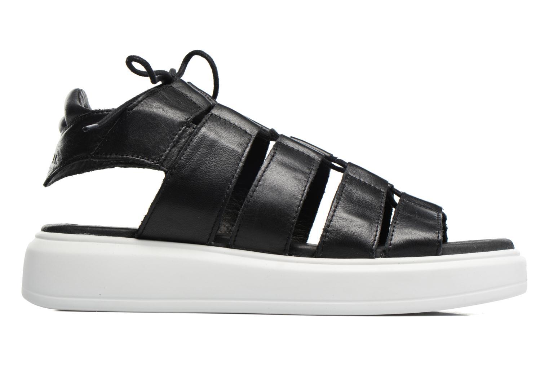 Sandales et nu-pieds Diesel H-Gram W Noir vue derrière
