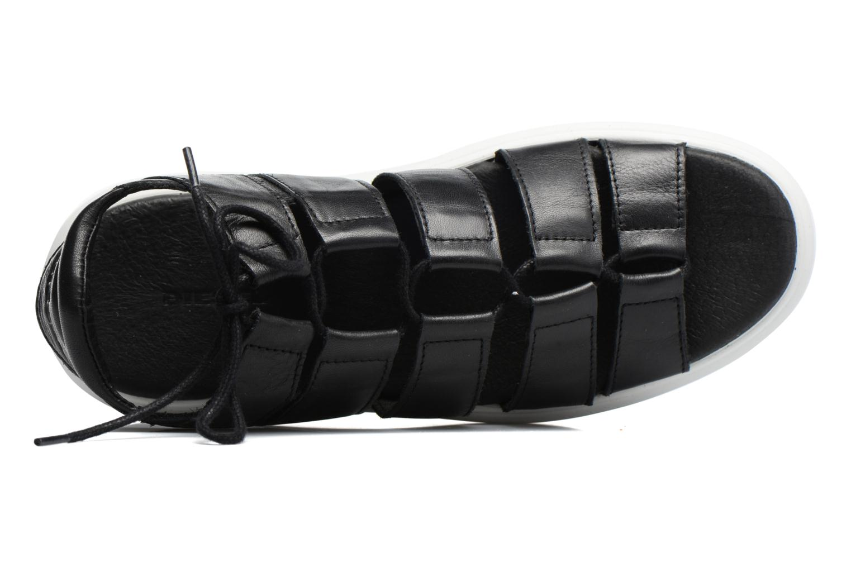 Sandales et nu-pieds Diesel H-Gram W Noir vue gauche