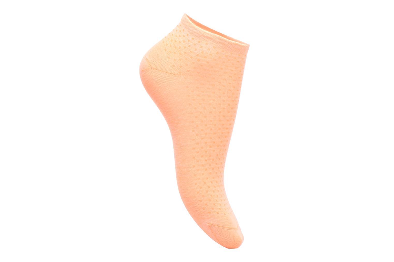 Chaussettes et collants BLEUFORÊT MINI-SOX SORBET POIS Orange vue détail/paire