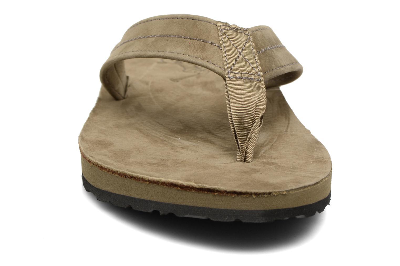 Tongs Polo Ralph Lauren Edgemont Gris vue portées chaussures