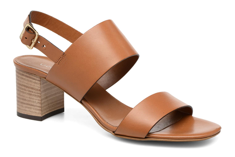 Sandaler Georgia Rose Batine Brun detaljeret billede af skoene