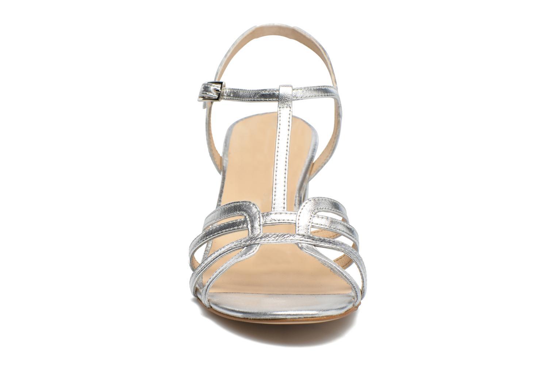 Sandalen Georgia Rose Bachic silber schuhe getragen