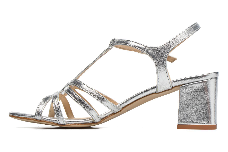 Sandales et nu-pieds Georgia Rose Bachic Argent vue face
