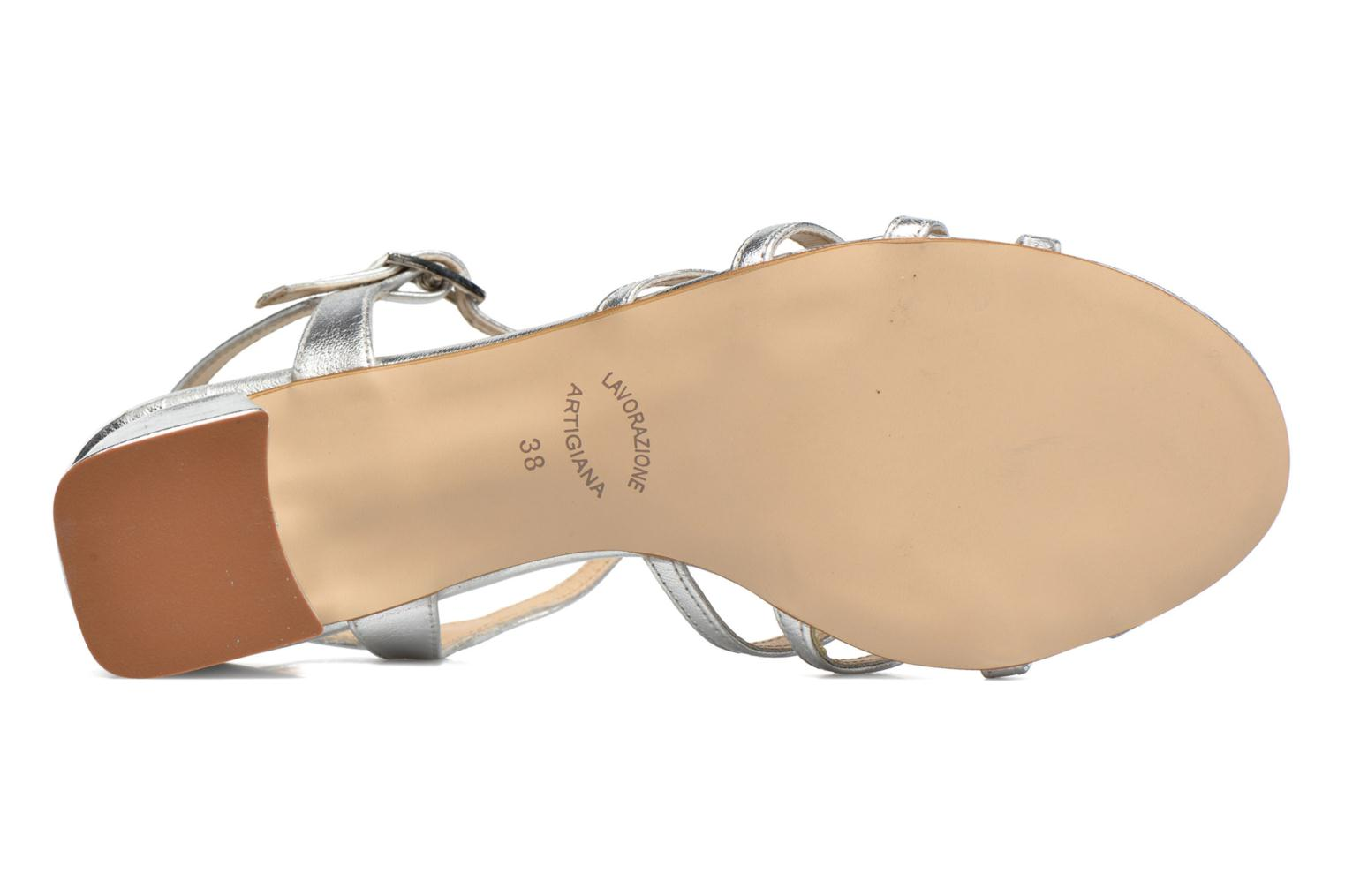 Sandals Georgia Rose Bachic Silver view from above