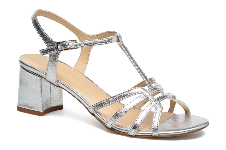 Sandales et nu-pieds Georgia Rose Bachic Argent vue détail/paire