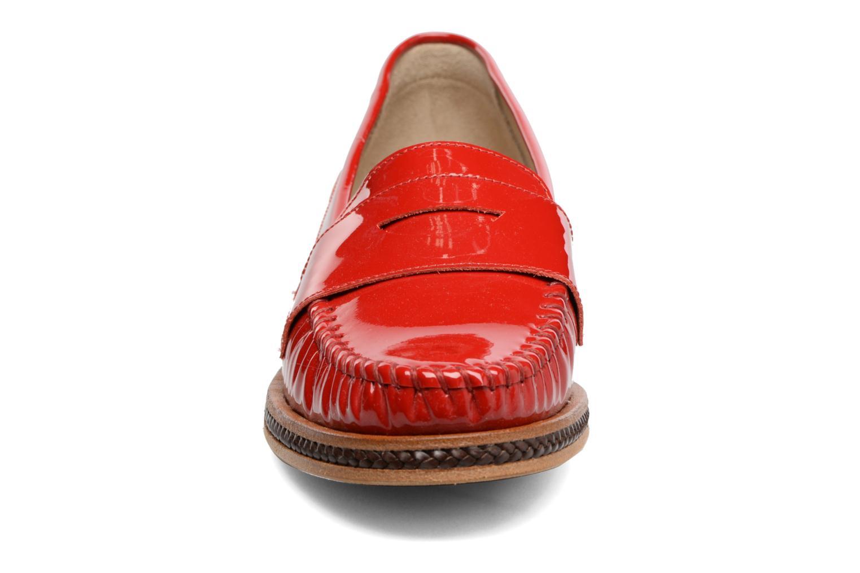 Mocassins MAURICE manufacture Seb Rouge vue portées chaussures