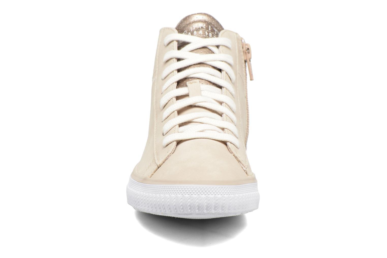 Sneaker Esprit Riata Bootie beige schuhe getragen