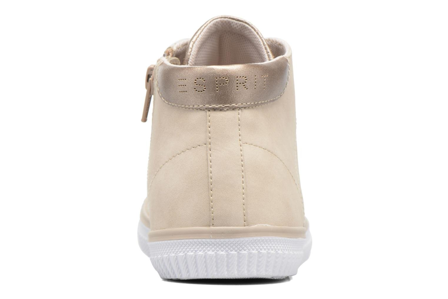 Trainers Esprit Riata Bootie Beige view from the right