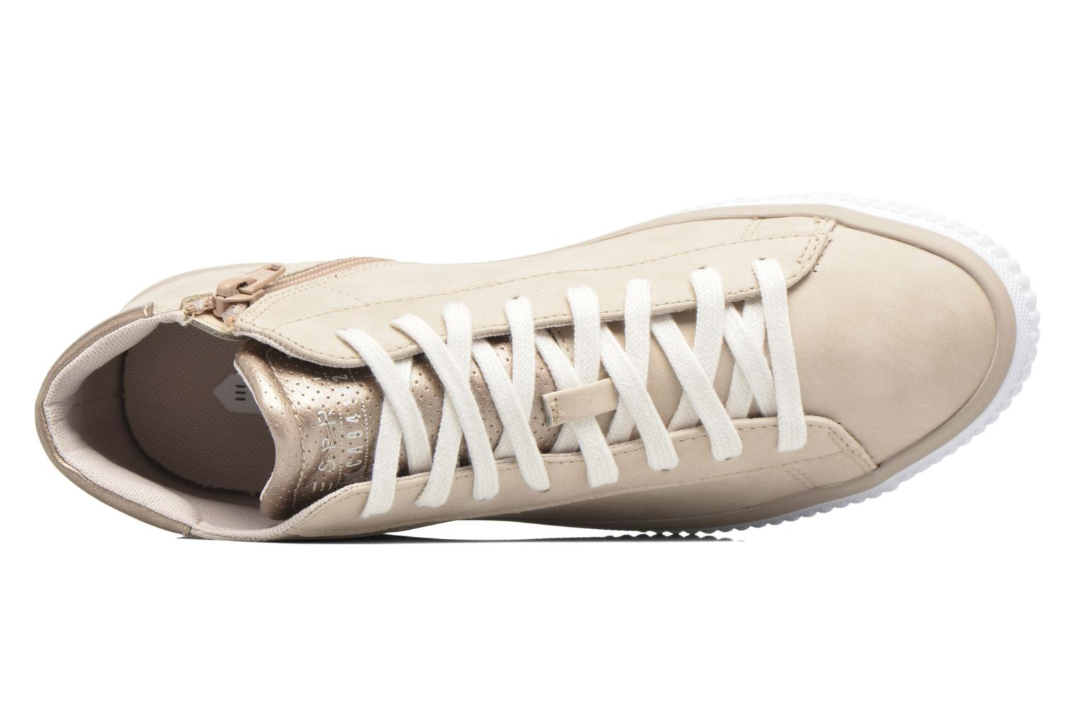 Trainers Esprit Riata Bootie Beige view from the left