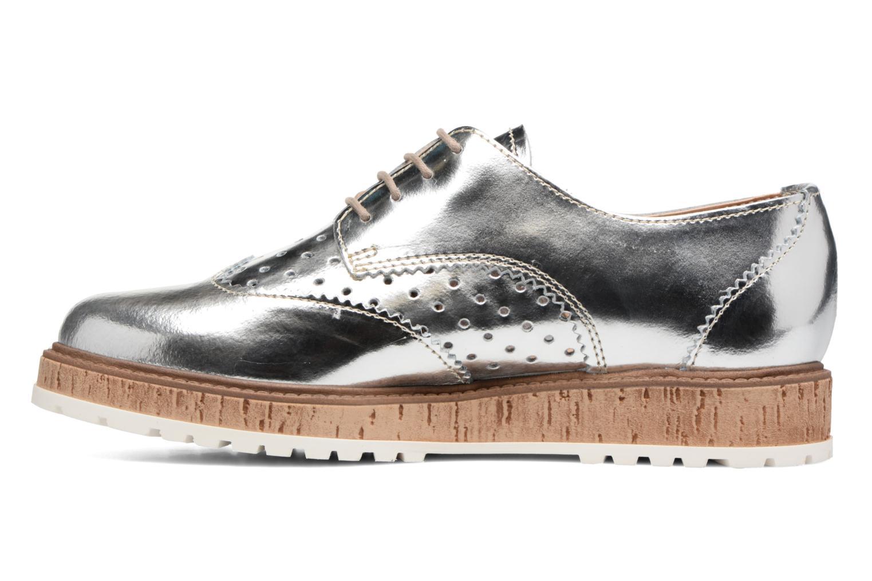Chaussures à lacets Esprit Crissy Metal Lace up Argent vue face