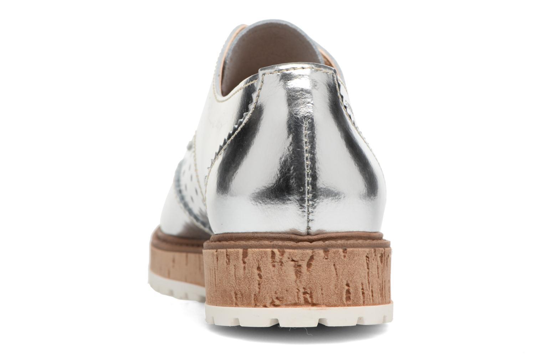 Chaussures à lacets Esprit Crissy Metal Lace up Argent vue droite