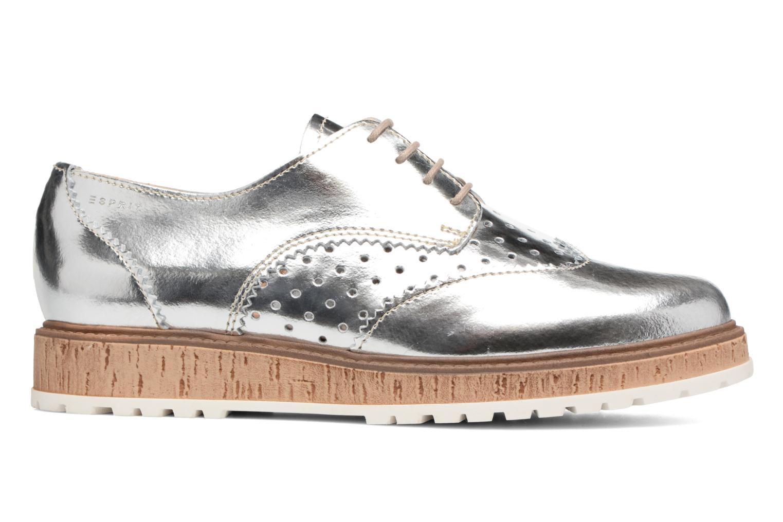 Chaussures à lacets Esprit Crissy Metal Lace up Argent vue derrière