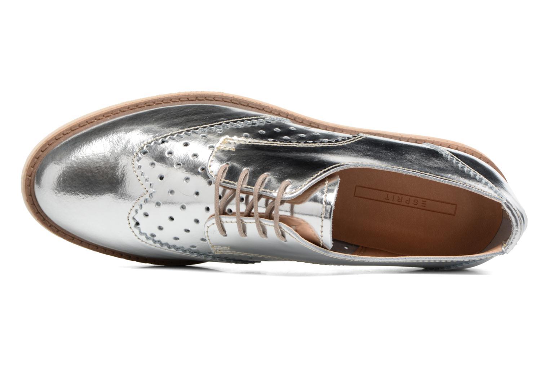 Chaussures à lacets Esprit Crissy Metal Lace up Argent vue gauche