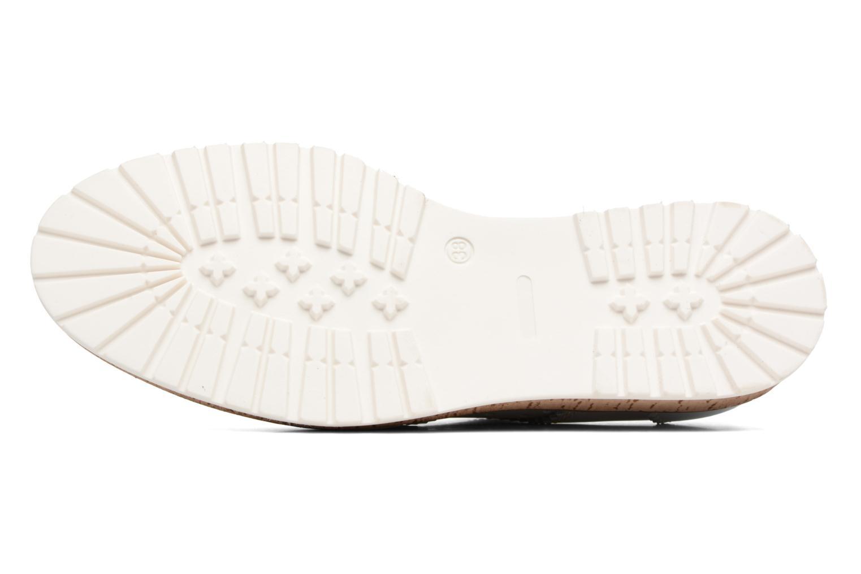 Chaussures à lacets Esprit Crissy Metal Lace up Argent vue haut