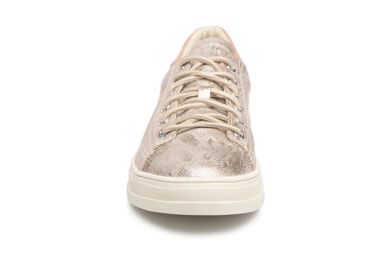 Sneaker Esprit Sidney Lace Up beige schuhe getragen