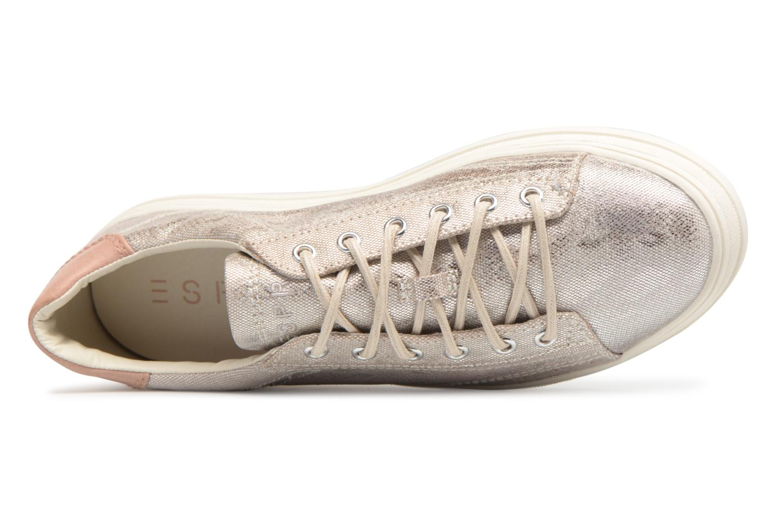 Sneaker Esprit Sidney Lace Up beige ansicht von links