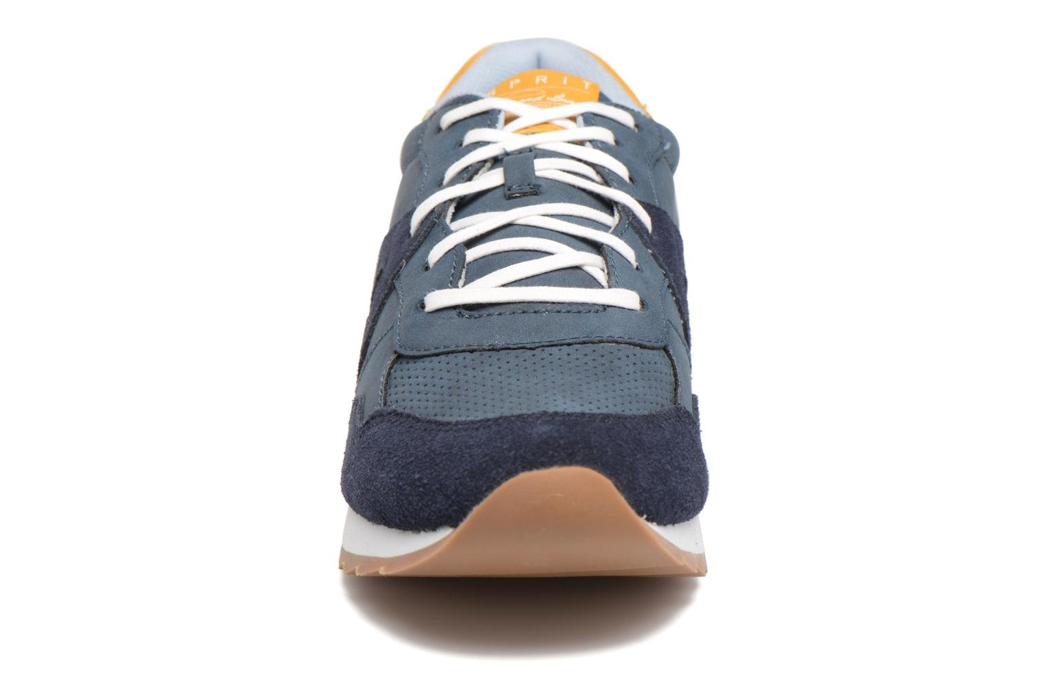 Trainers Esprit Astro Lace Up Blue model view