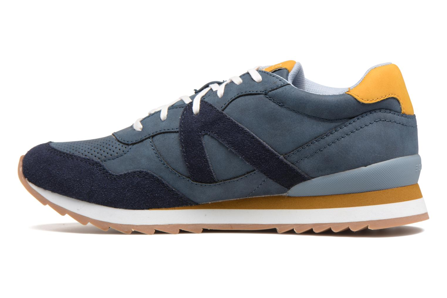 Trainers Esprit Astro Lace Up Blue front view