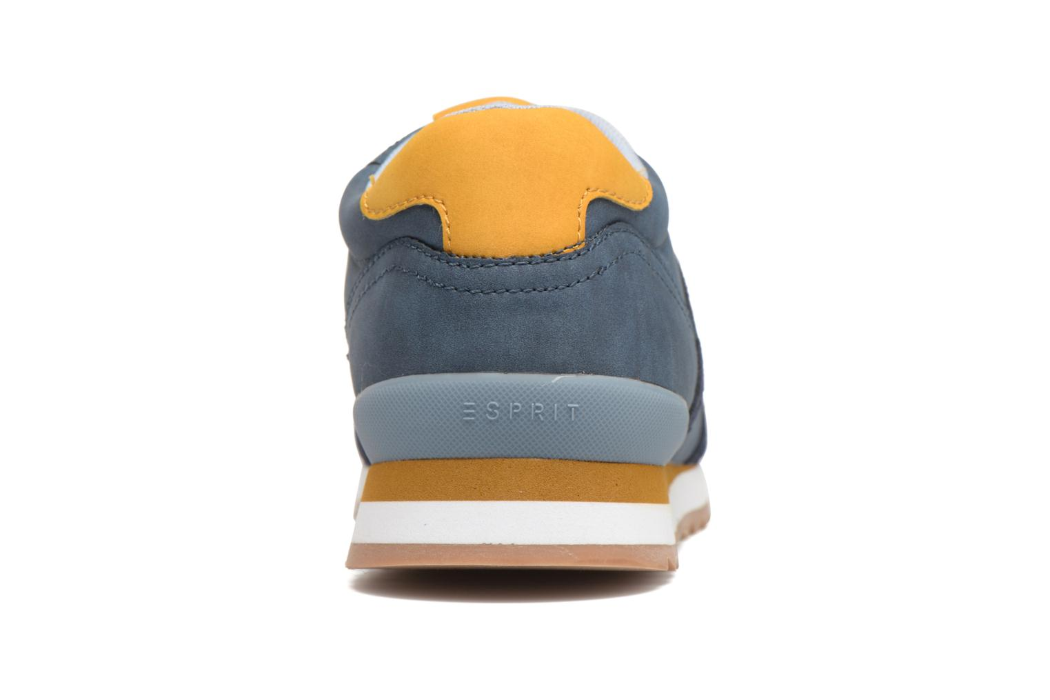 Trainers Esprit Astro Lace Up Blue view from the right
