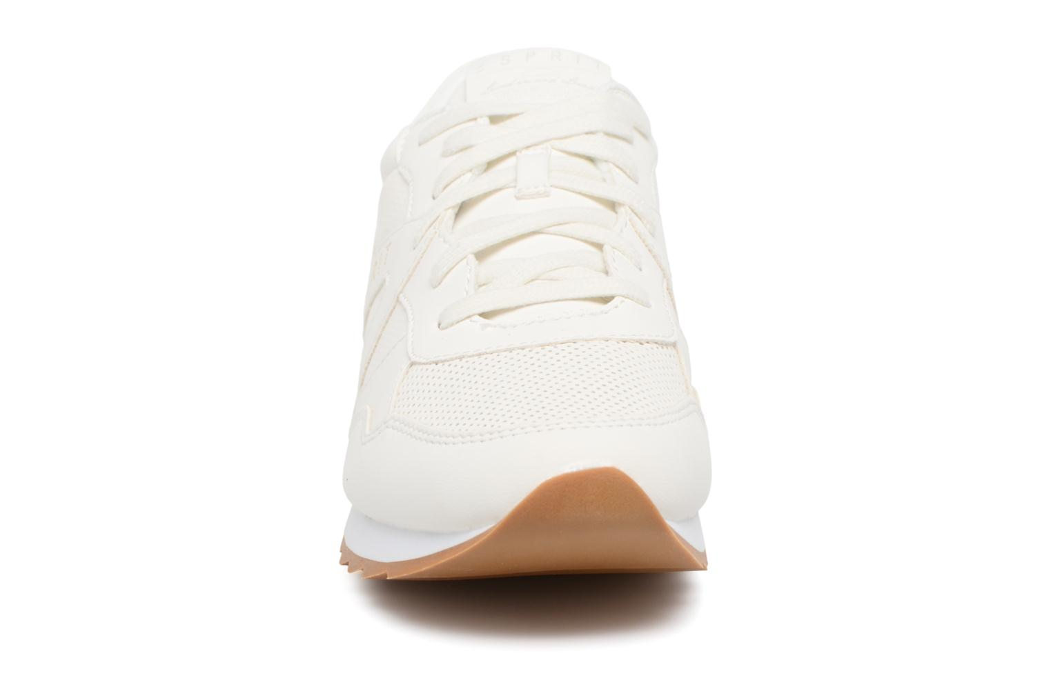 Trainers Esprit Astro Lace Up White model view