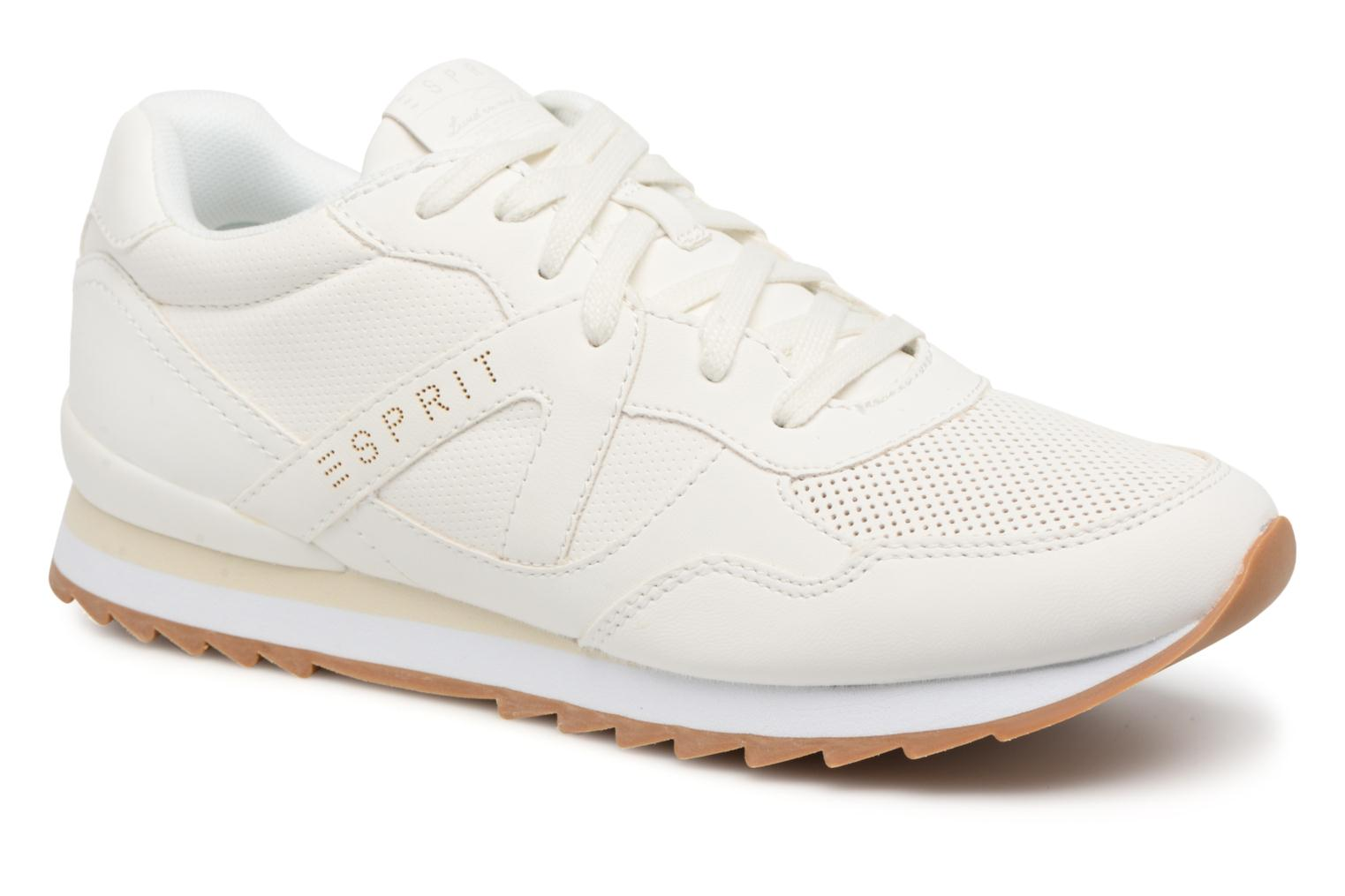 Trainers Esprit Astro Lace Up White detailed view/ Pair view