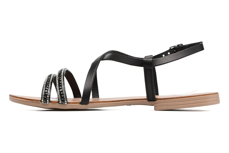 Sandales et nu-pieds Esprit Nil sandal Noir vue face