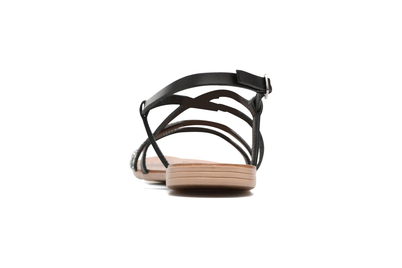Sandales et nu-pieds Esprit Nil sandal Noir vue droite