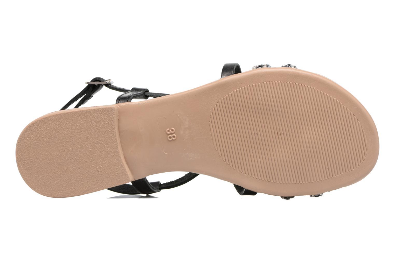 Sandales et nu-pieds Esprit Nil sandal Noir vue haut