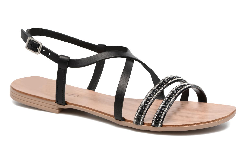 Sandales et nu-pieds Esprit Nil sandal Noir vue détail/paire