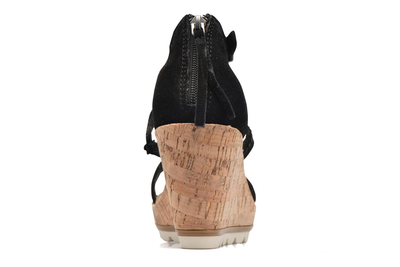 Sandali e scarpe aperte Minnetonka Lincoln Nero immagine destra